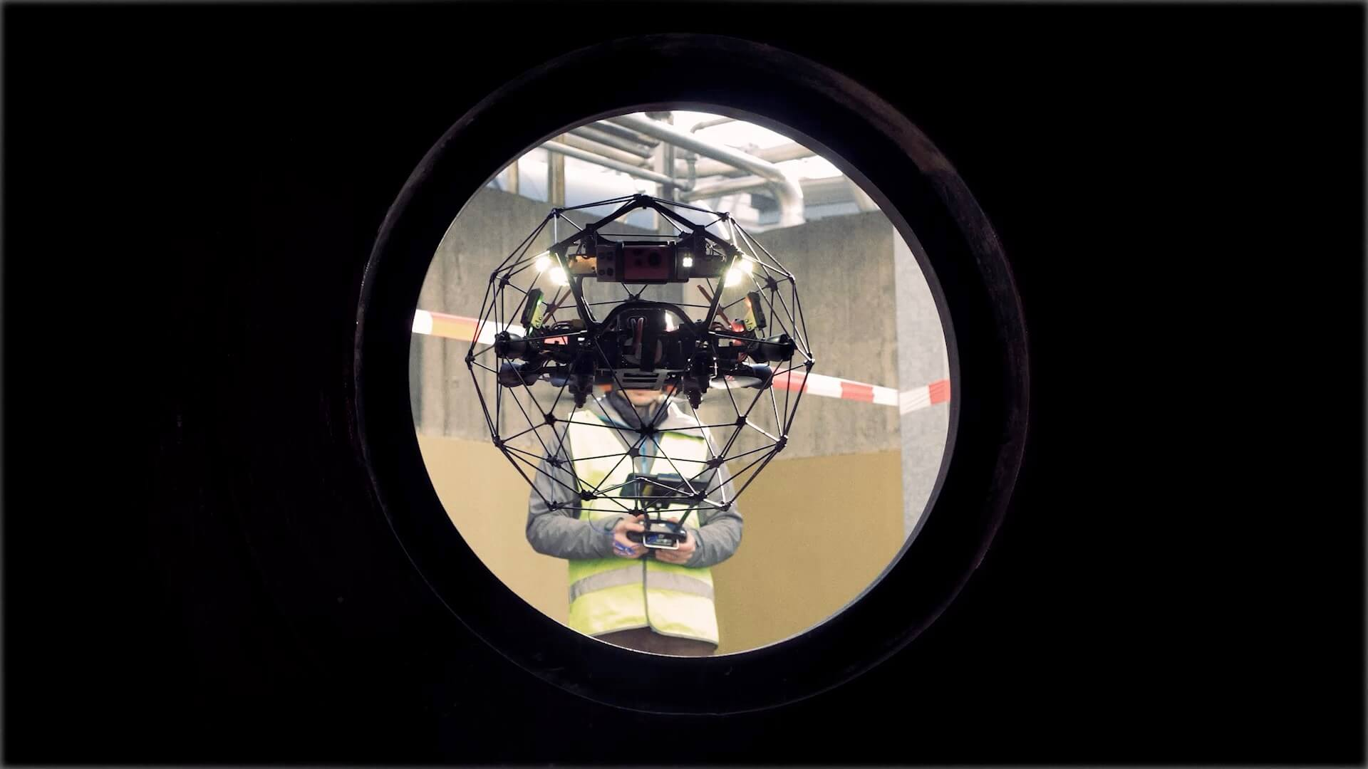 Inspect & Explore: Confined Space Drone Inspections with Elios 2 Drone Technology