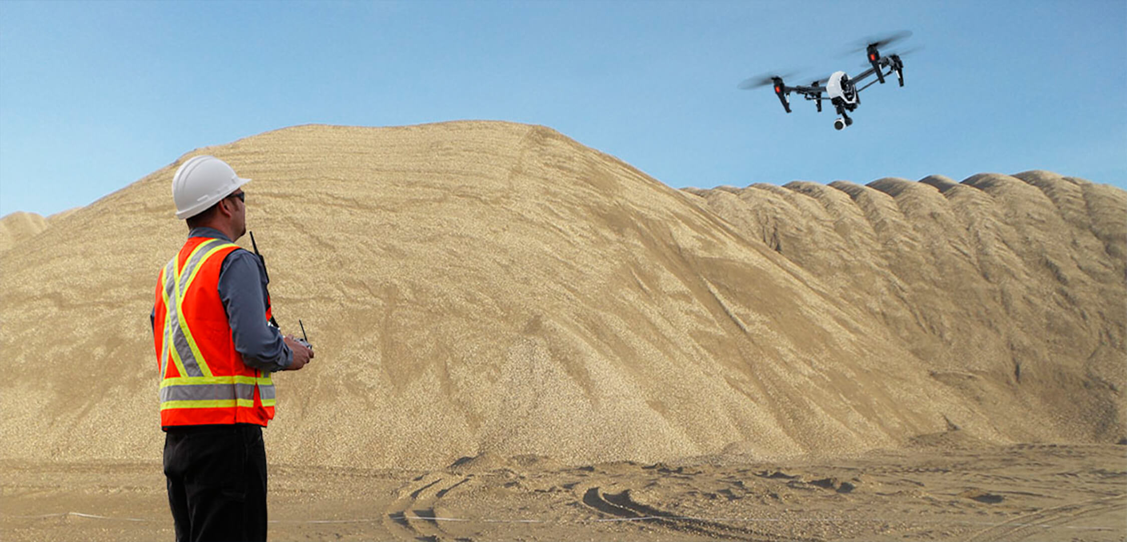 Stockpile Measurement Drones