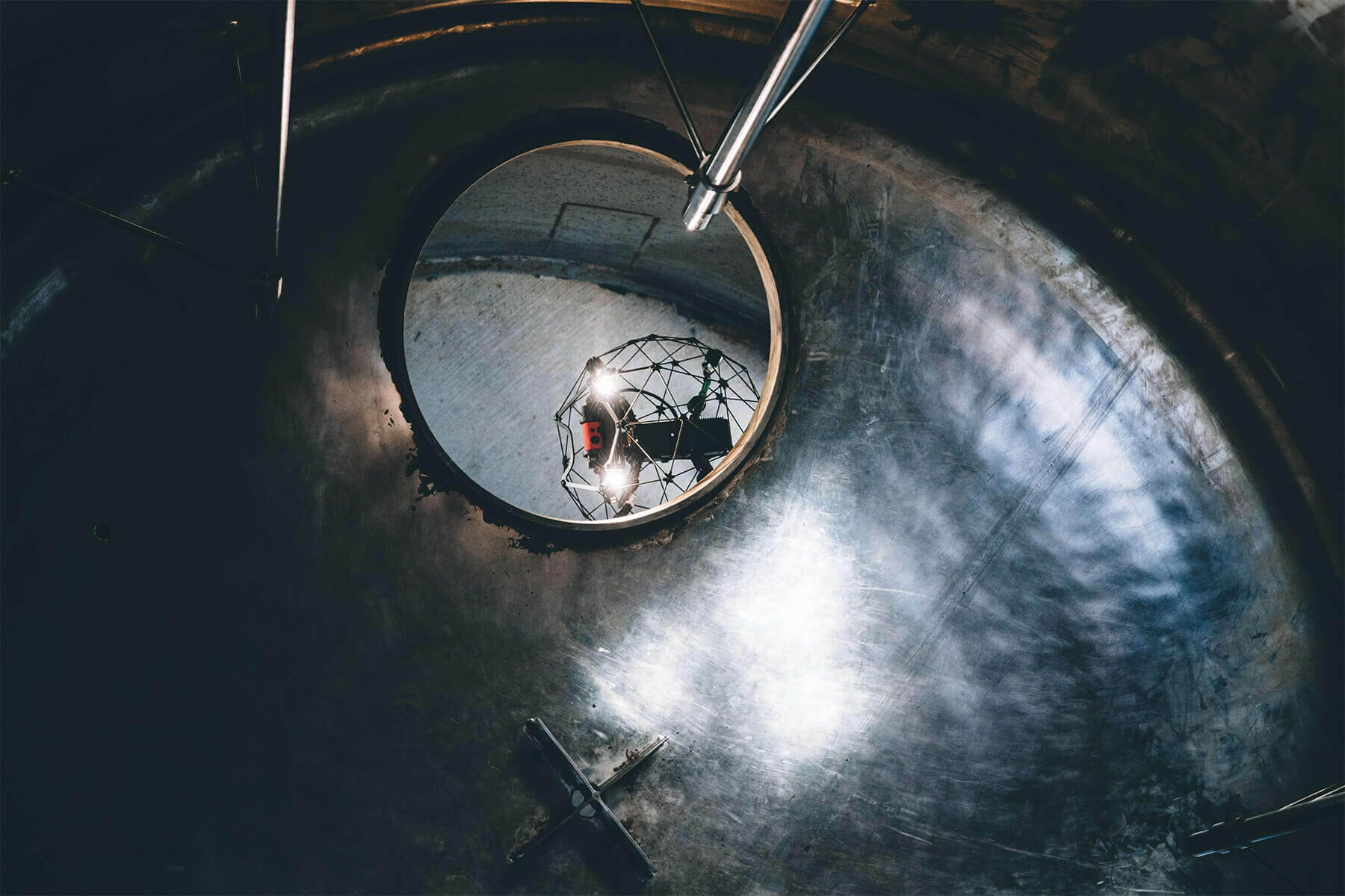 Confined Space Drone Inspections: Benefits of Using UAVs